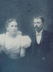 2. Harold's grandparents, Will and Elizabeth Fitzsimons, the inspiration for Will and Mary O'Shaughnessy. Harold Thorpe photograph