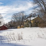Cornish house and barn