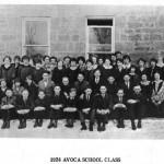 1924 Avoca High School class