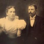 "William Fitzsimons and Elizabeth ""Lizzie"" Stephens-Fitzsimons, 1898"