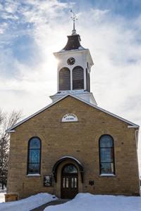 Linden Methodist Church. ©2014 Terry McNeill