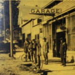 Aid's Garage, Highland, early twentieth century