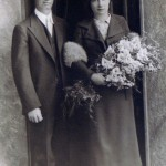 Mac and Nora McSherry wedding, 1930s