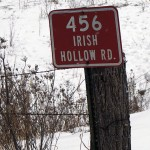 Irish Hollow Road, town of Highland. ©2015 Inkspots, Inc.