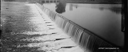 Fox River Damn by Detroit Photography