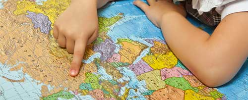 Kid's Corner – Where are you from?