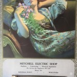 A 1929 Mitchell Electric Shop calendar