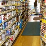 Paint aisle
