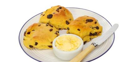 Cornish Christmas Saffron Cakes