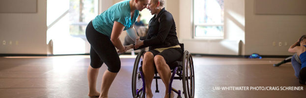 Wheelchair Dance at UW-Whitewater