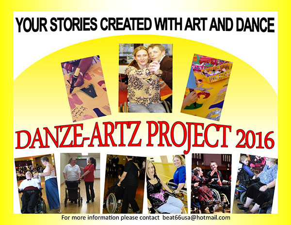 Danze-Artz project flyer
