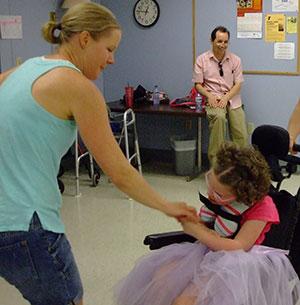 Wheelchair dance in Appleton