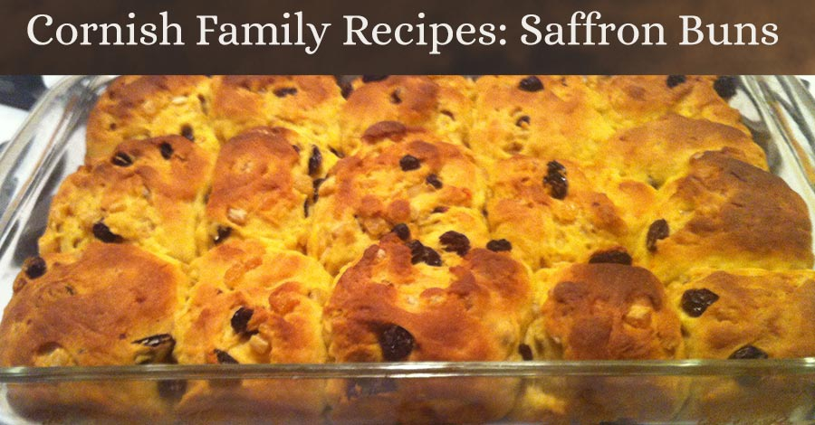 Cornish Family Recipes: Saffron Buns
