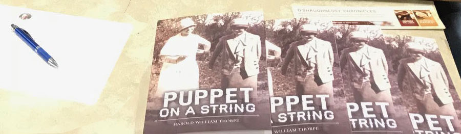Puppet on a String Book Signing: Many Thanks
