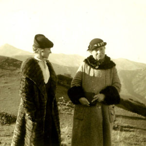 Laura and her mother Elizabeth