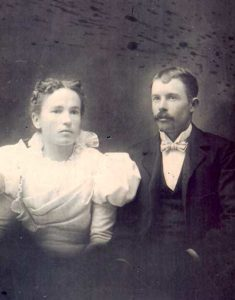 Grandma Elizabeth and Will Fitzsimons wedding picture
