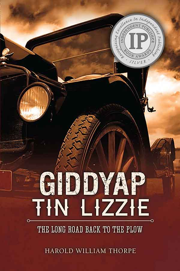Giddyap Tin Lizzie with IPPY seal